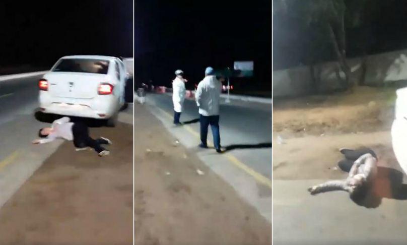 إيقاف مخرج مغربي لا يتوفر على وثائق السياقة وزوجته تسقط أرضاً !