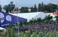 آلاف الشباب المغاربة يردون على بنكيران و العثماني من القنيطرة : فيناهي الخدمة !