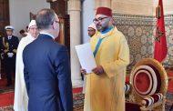 المٓلك يستقبل السفراء الأجانب الجدد المُعتمٓدين بالمغرب