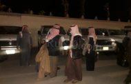 صور حصرية. شقيق العاهل السعودي يصل العيون لقضاء عطلة خاصة
