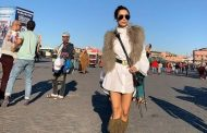 صور/ نجمة بوليوود ماليكا أرورا تستمتع بأجواء مراكش !