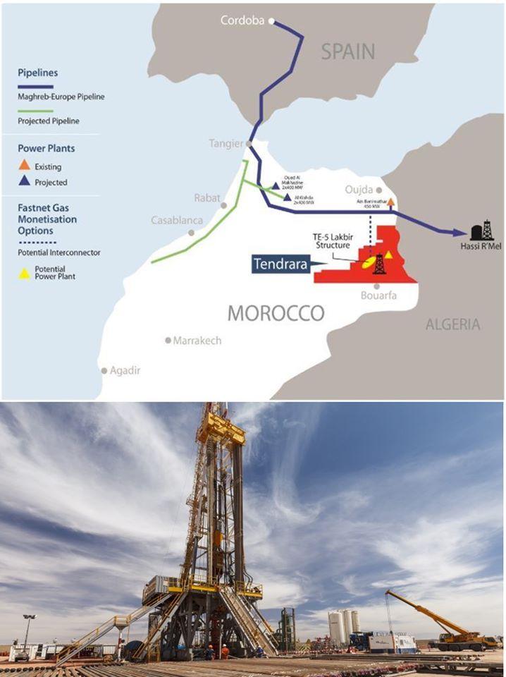 المغرب يبدأ في تصدير الغاز إلى أوروبا