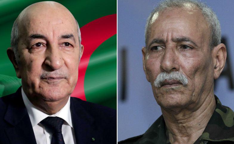 غزل وتهاني بين الرئيس الجزائري تبون و كبير الجبهة !